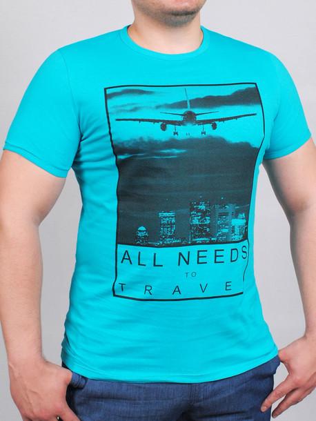 AIR футболка бирюза