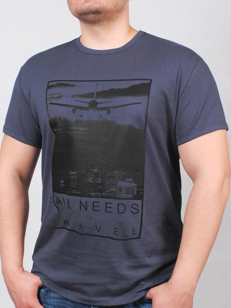 BIG AIR футболка графит