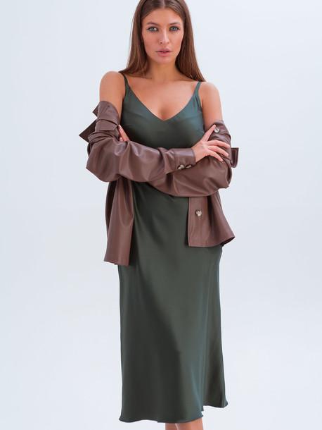 Армина GRAND платье малахит