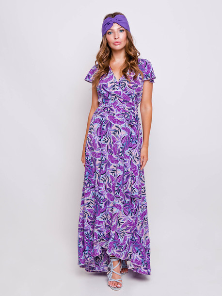 Алисия платье маджента