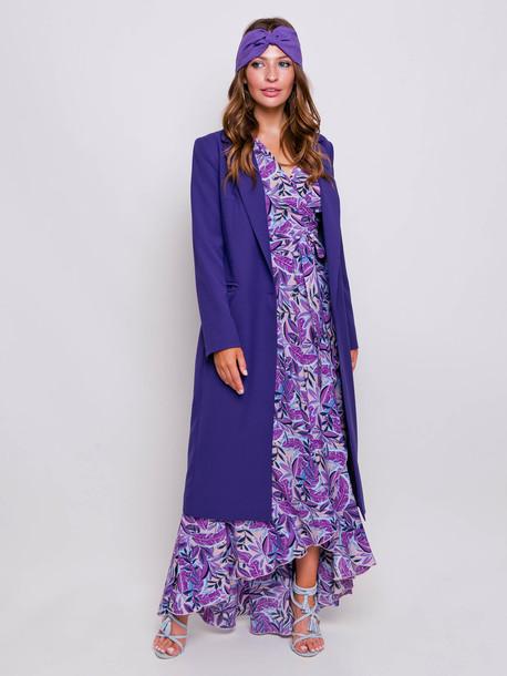 Зара тюрбан фиолет