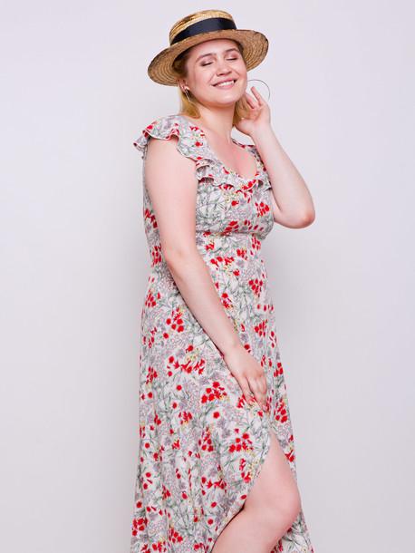 Брианна платье букет