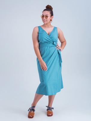 Кимберли платье лагуна
