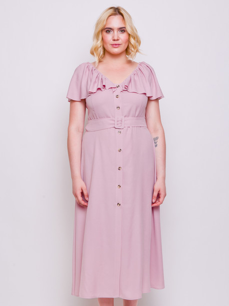 Адриана платье пудра