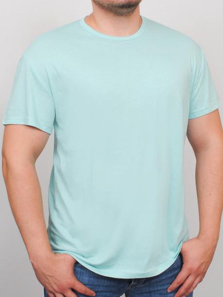 BIG NEWTOWN футболка мятный