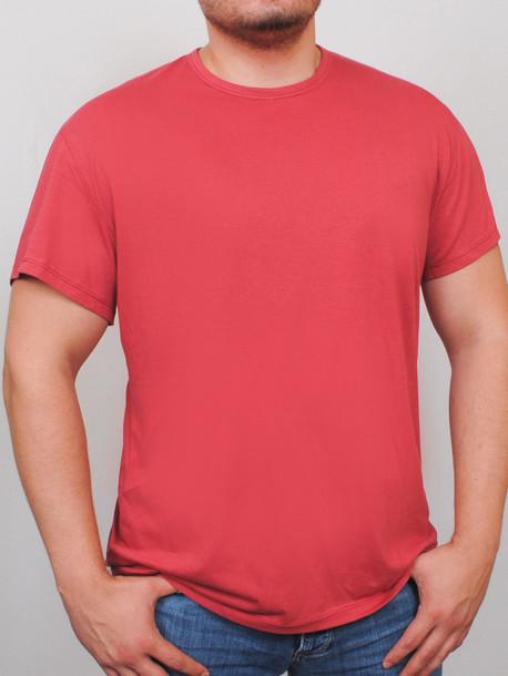 BIG NEWTOWN футболка терракот