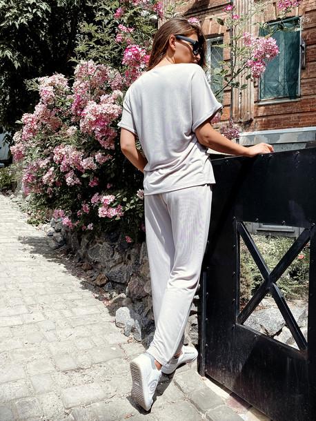 Глен брюки кремовый