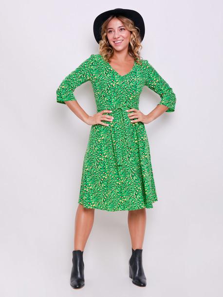 Адель PETITE платье травяной
