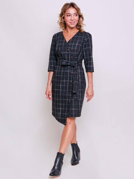 Таша PETITE платье оникс
