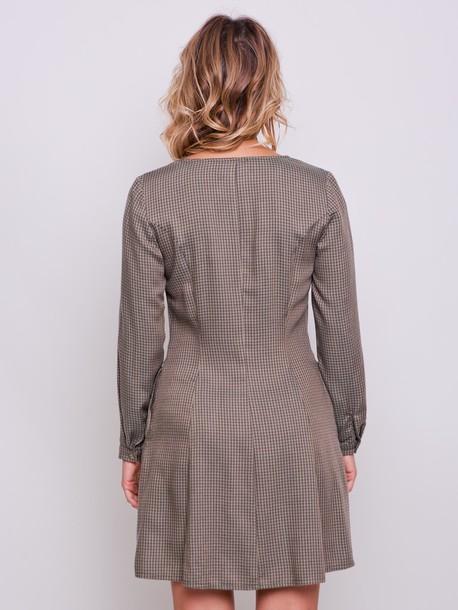 Владлена PETITE платье хаки