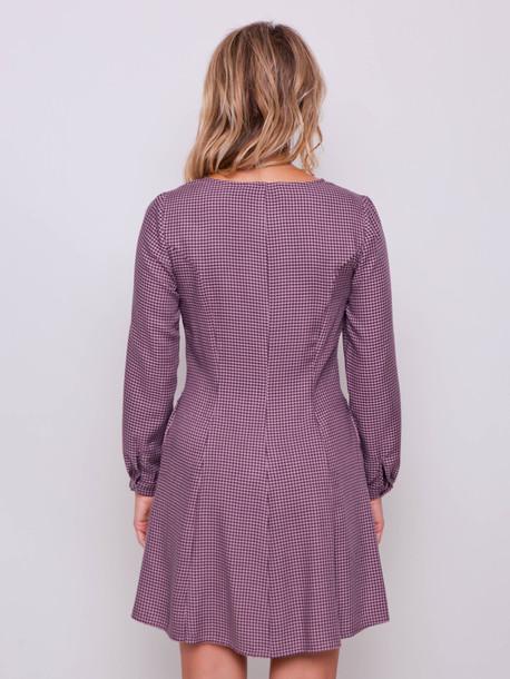 Владлена PETITE платье визон