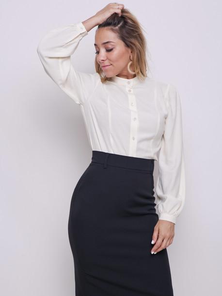 Анита PETITE блуза ваниль
