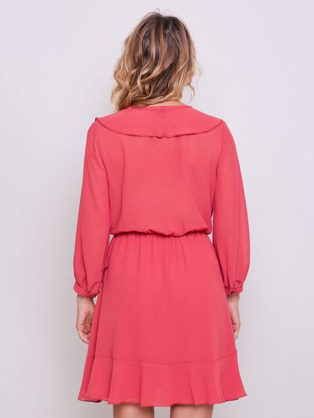 Анаис PETITE платье грейпфрут
