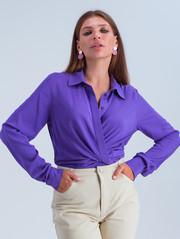 Лина блуза фиолет