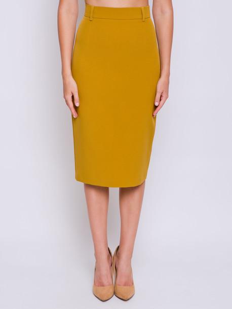 Вайнона юбка горчица