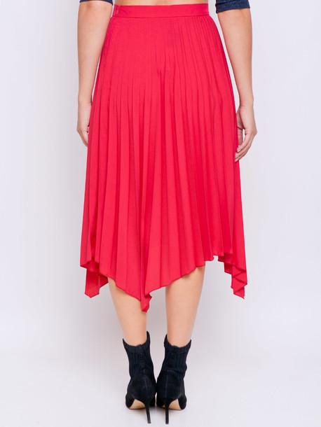 Ивея юбка амарант