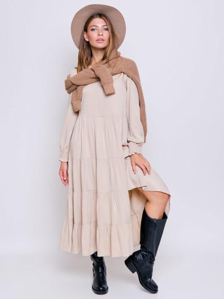 Виллоу платье крем брюле