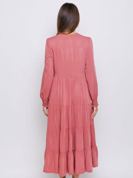 Виллоу платье терракот