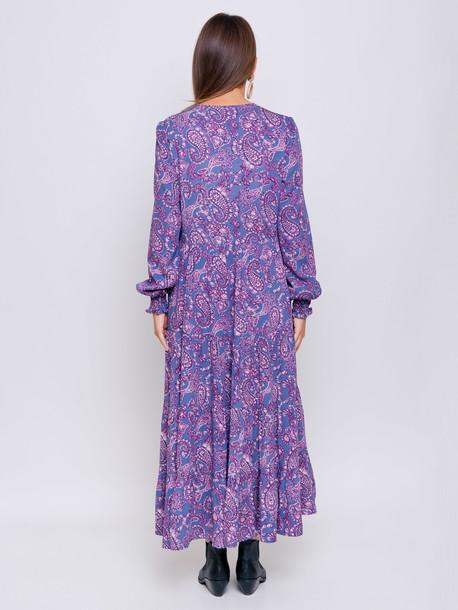 Виллоу принт платье турецкий огурец