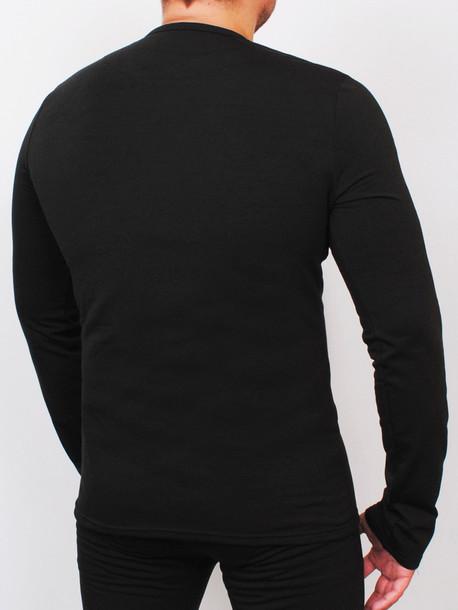LS termo футболки длинный рукав черный