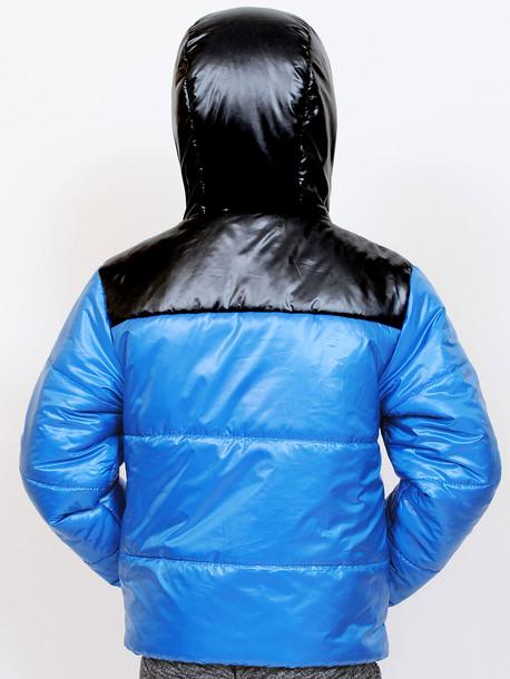 CITY Junior куртка бирюза-черный