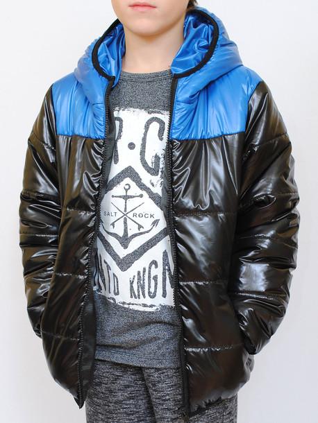 CITY Junior куртка черный-бирюза
