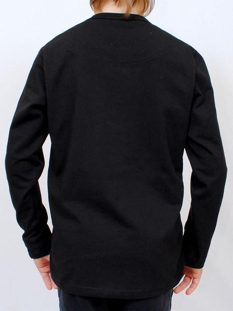 LS Junior футболка длинный рукав черный