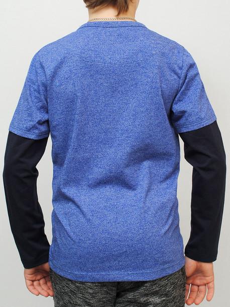 INDIAN Junior футболка длинный рукав электрик