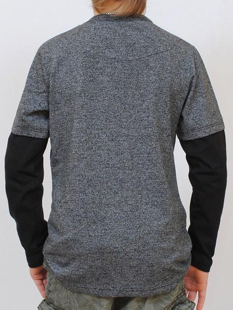 UNITED Junior футболка длинный рукав черный