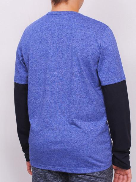 UNITED Junior футболка длинный рукав электрик