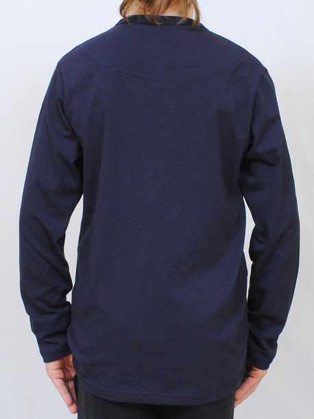 FIGHTERS Junior футболка длинный рукав т.синий