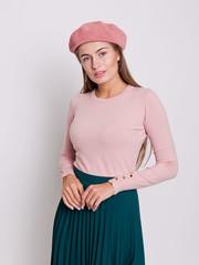 Брит пуловер персик