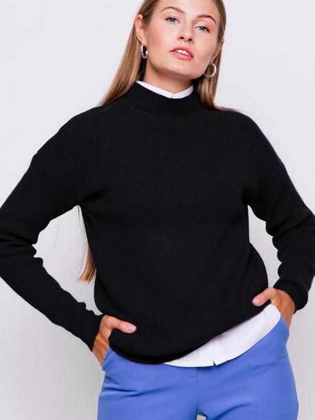 Бинго свитер оникс