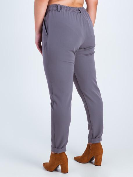 Иста брюки оловянный