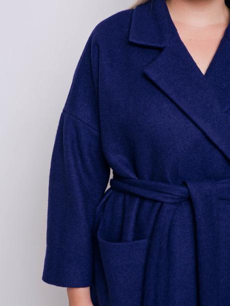 Камея пальто сапфир