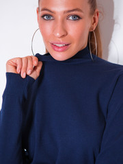 Ари свитер синий