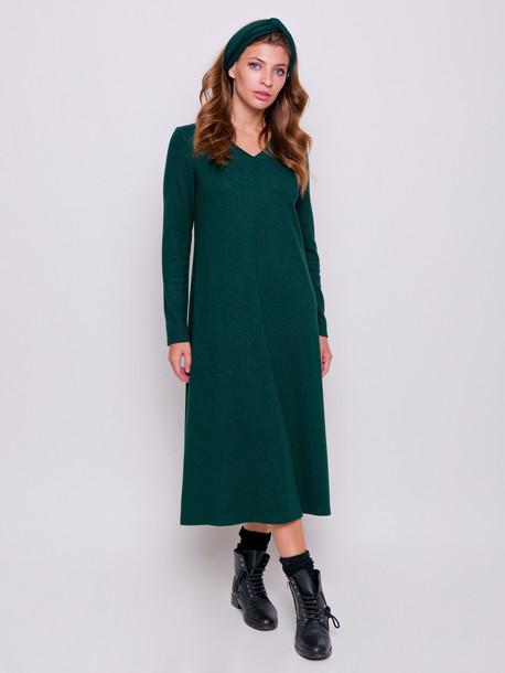 Дикси GRAND платье изумруд
