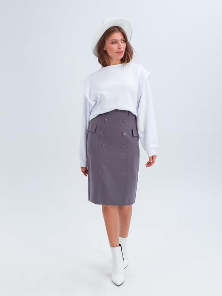 Вилли юбка оловянный