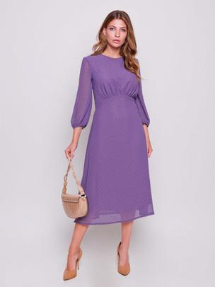Айвори платье сирень