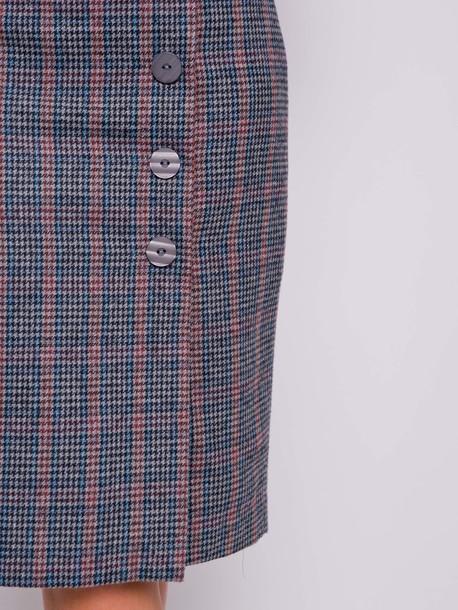 Сильвана юбка лазурный