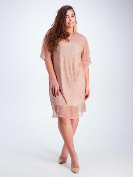 Элисо платье золотой