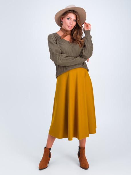 Матиас юбка янтарь
