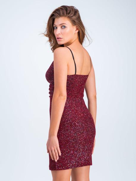 Бэйби платье красный