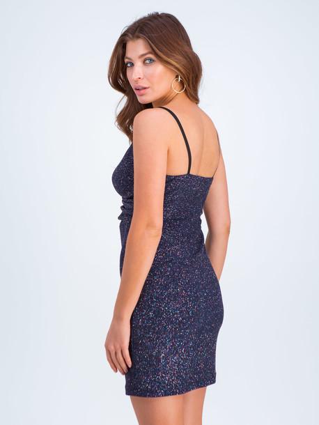 Бэйби платье синий