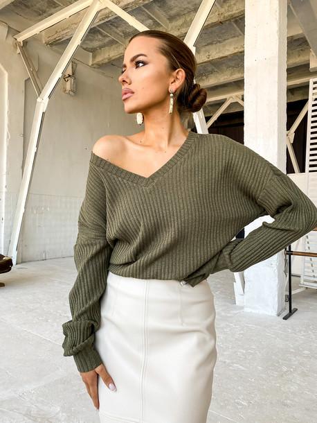 Китана пуловер хаки