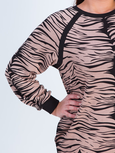 Иджи TRAND платье тигровый