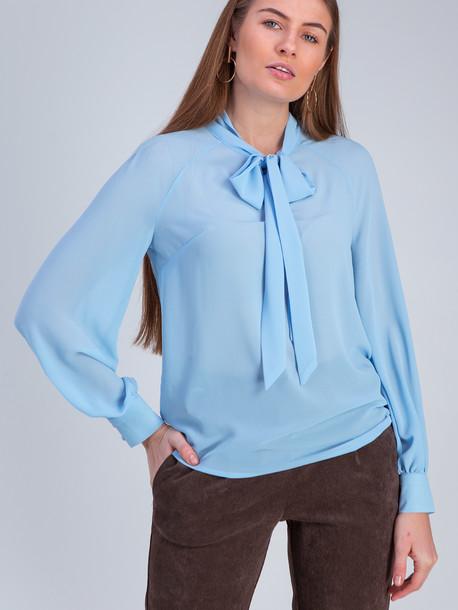 Аделита GRAND блуза голубой