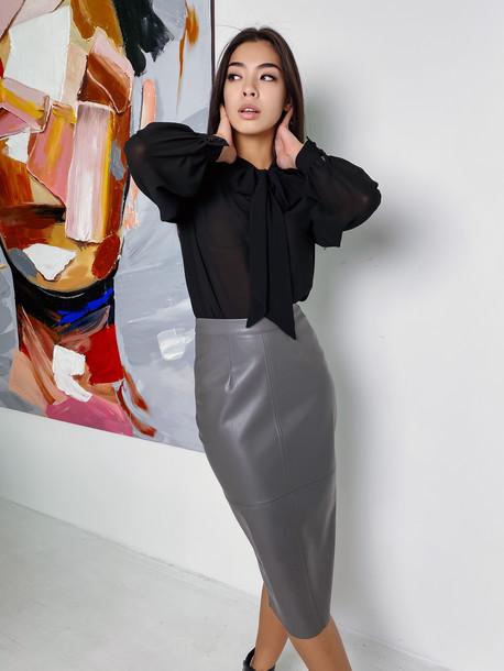 Аделита GRAND блуза оникс