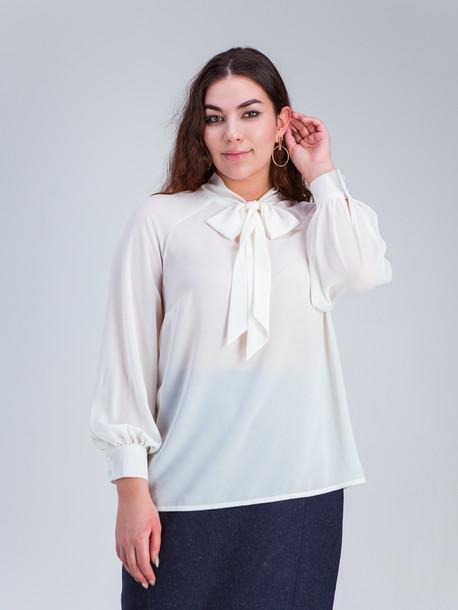Аделита TRAND блуза молоко