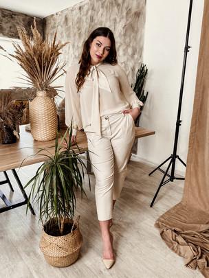Аделита TRAND блуза ваниль